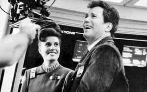 Still of Melanie and Bill Shatner on Star Trek V The Final Frontier - Paramount Pictures Image