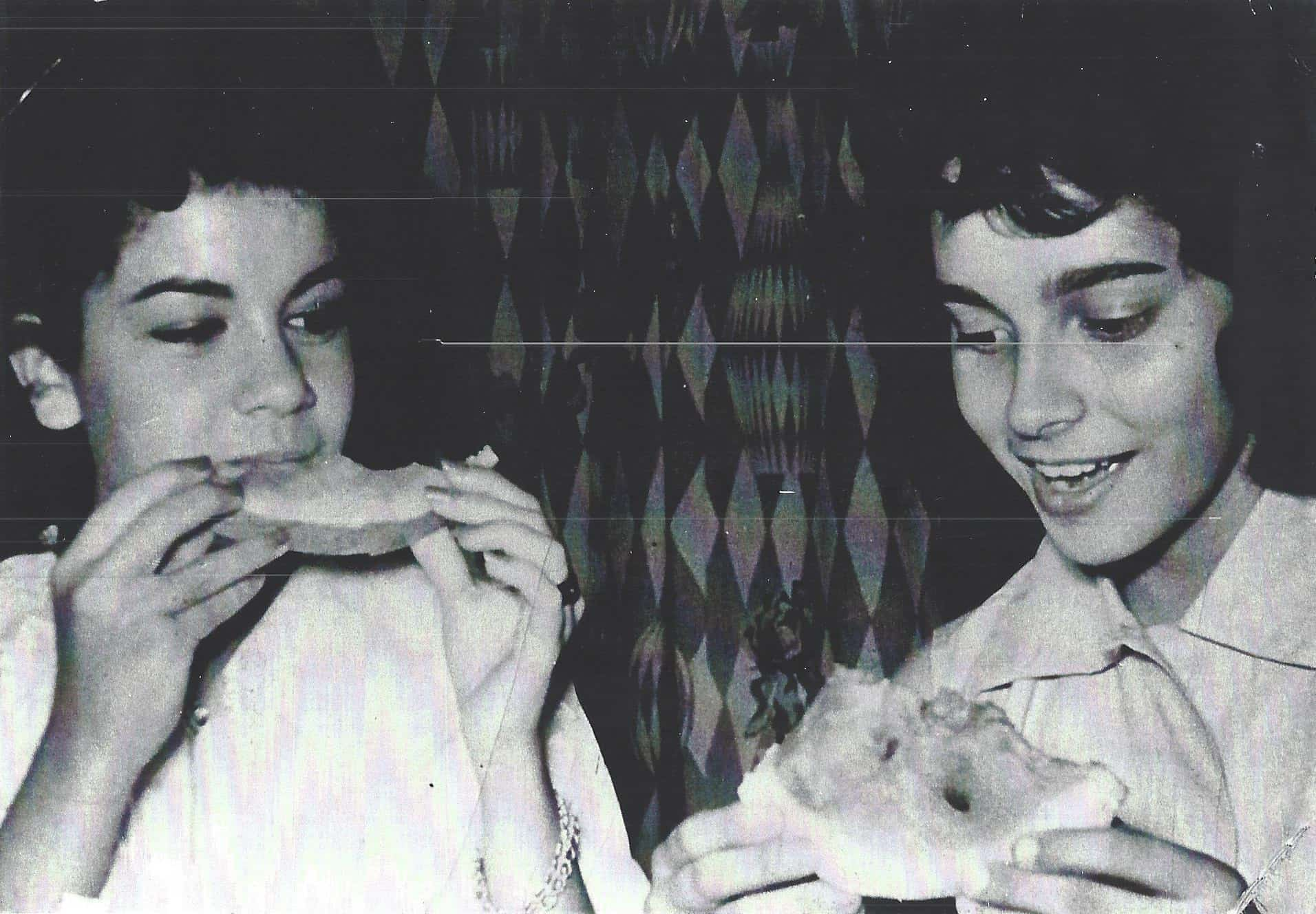 With Annette Funicello