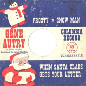 gene-autry-and-the-cass-county-boys-frosty-the-snowman-columbia
