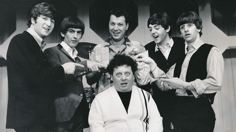 Marty Allen With Steve Rossi And The Beatles Image