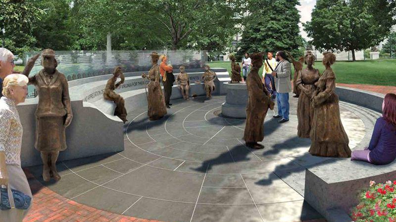 Virginia Women's Monument Image