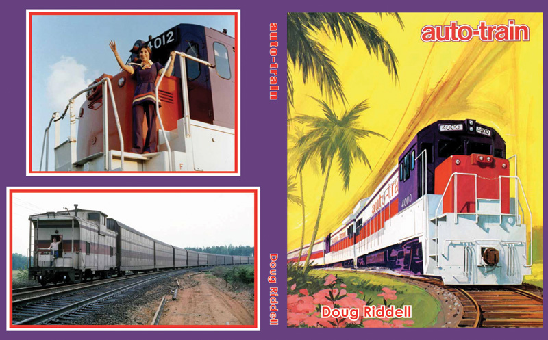 Auto-Train - The cover of Doug Riddell's book