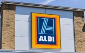 Aldi Supermarket Saving Money Image