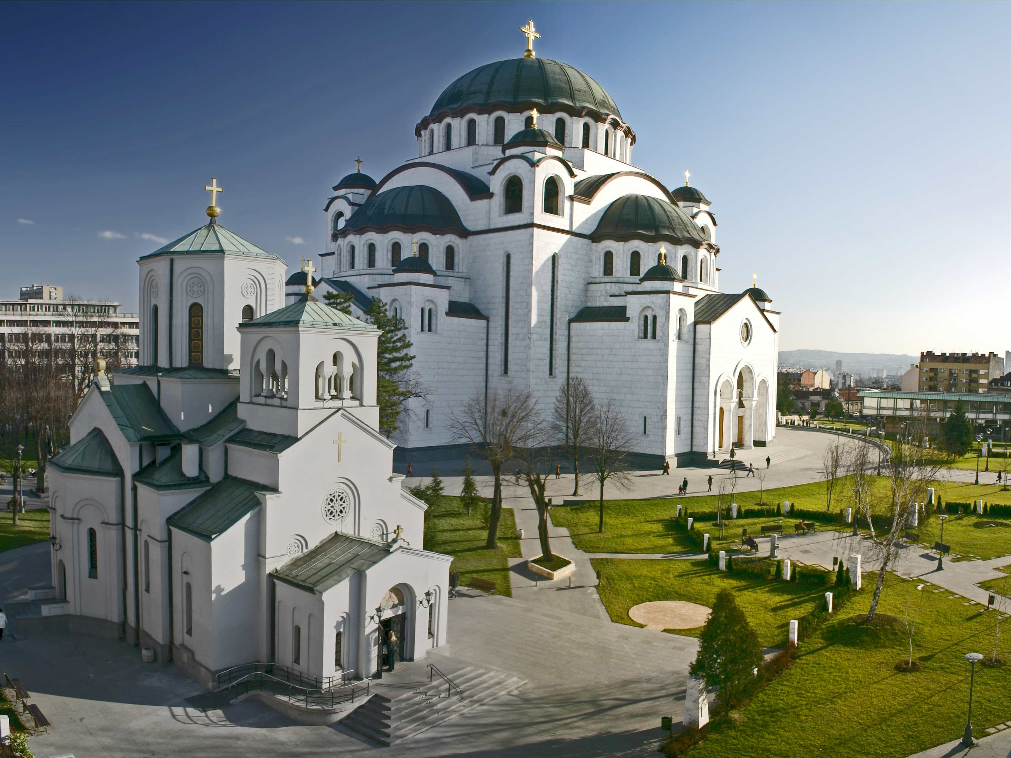 Church of St. Sava in Belgrade, Serbia