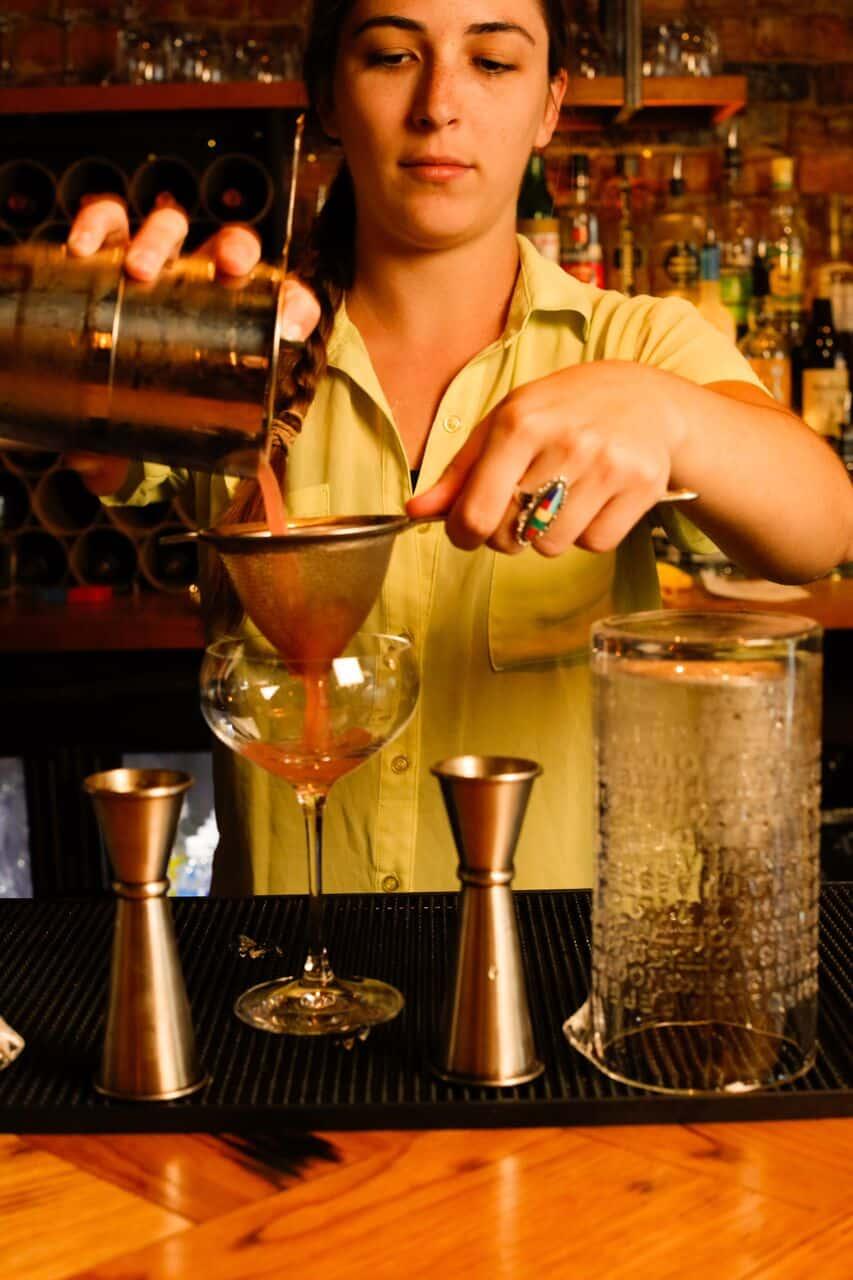 Bartender Caroline Ciulla Nota Bene