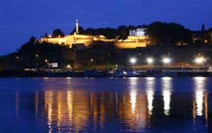 Belgrade Fortress on the Sava and Danube rivers Image