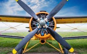 WWI Biplane Image