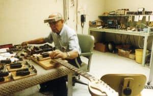 Leo Fender Guitar Image