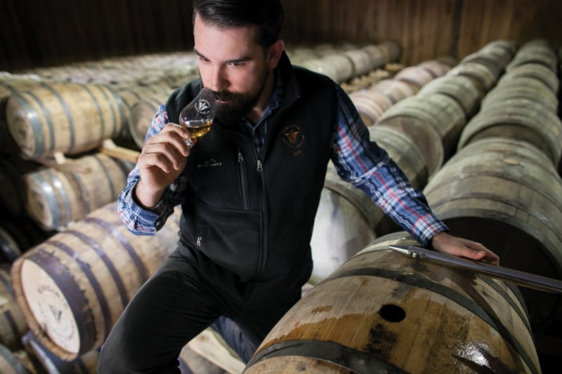 Ian Thomas, Virginia Distillery Director | Photograph by Tom Daly