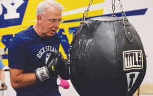 Punching_Bag Parkinson's Gym Rock Steady Image