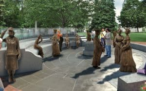 Capitol Grounds Womens Monument Image