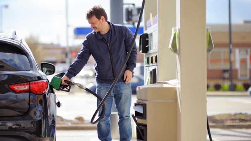 Gasoline car spending Image