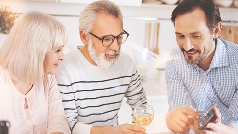 Aging Parents Finance Image
