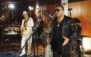 Isley Brothers and Santana Image