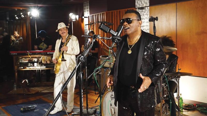 Isley Brothers and Santana Image