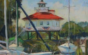 Lighthouse Plein Air Image