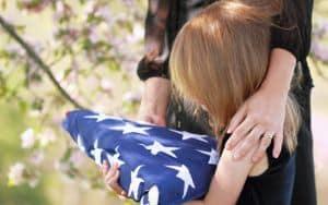 WWII Veteran Funeral Image