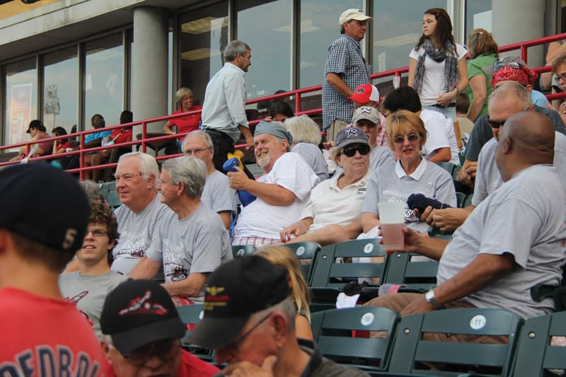 Silver Squirrels | Photograph courtesy of the Richmond Flying Squirrels