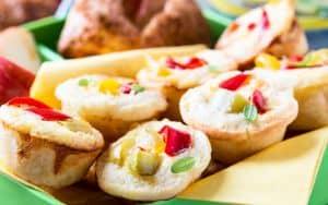 Potato and chorizo Quiche Image