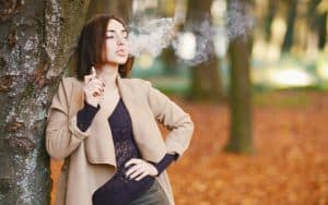 Vaping Teenager Image