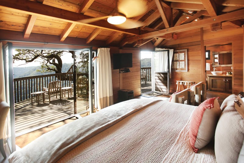 Treehouse bedroom | Photograph courtesy of Primland