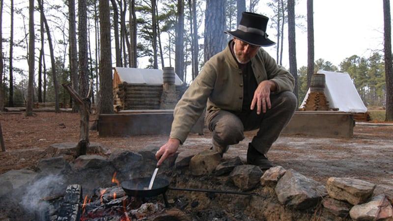 Pamplin Historical Park Civil War Image