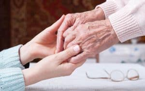 Aging caregiver Image