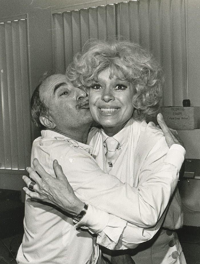 Charlie Cinnamon with with Carol Channing