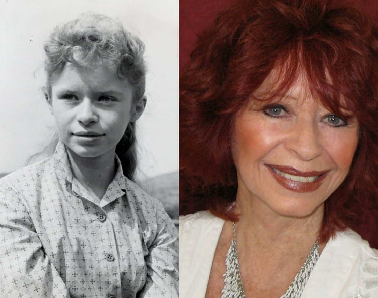 1. Beverly Washburn, then and now. Photos provided by Beverly Washburn