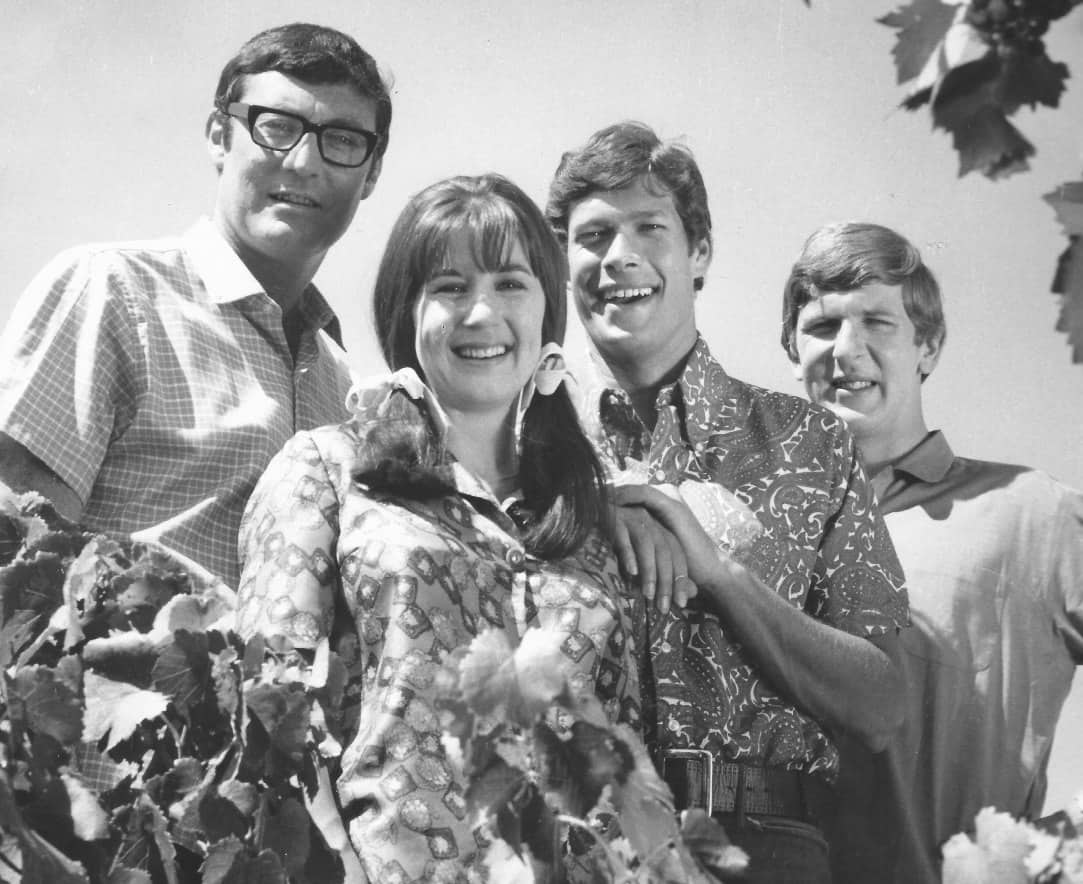 1. Production still from The Seekers Down Under TV special in 1967