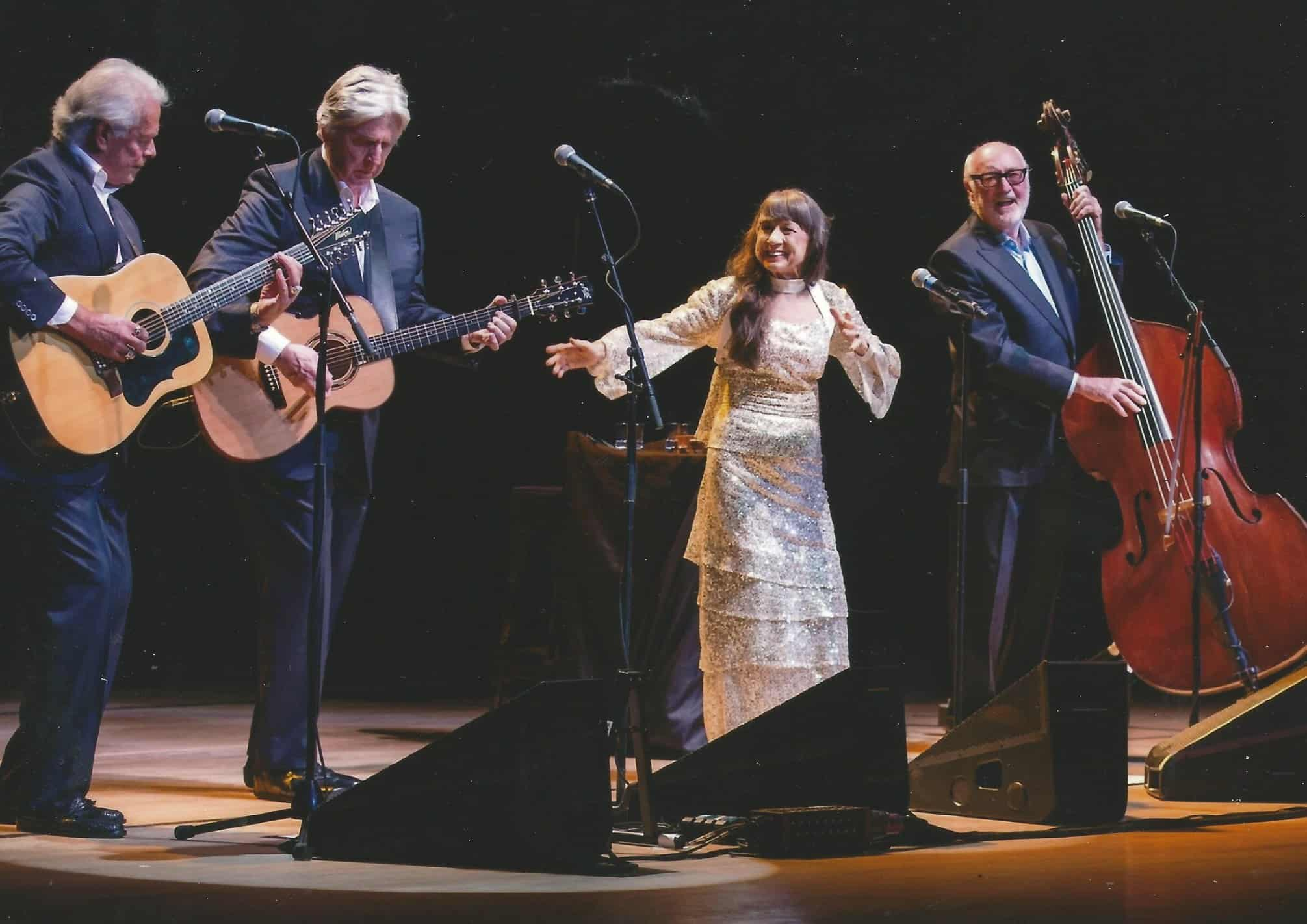 3. The Seekers onstage in the UK in 2014 during their sold-out Golden Jubilee tour.