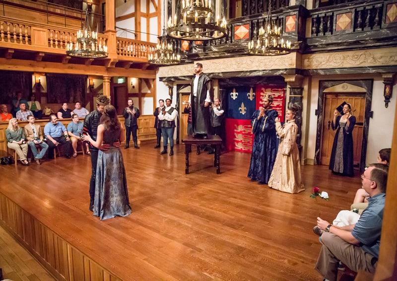 """The cast of """"The Life of King Henry the Fifth""""   Photography by Tommy Thompson"""
