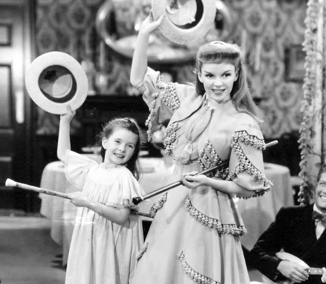 Publicity still from Meet Me in St. Louis with Judy Garland - 1944, MGM