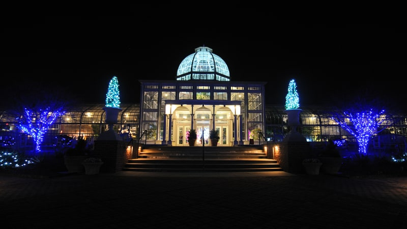 Lewis_Ginter GardenFest of Lights Image