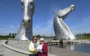 Wheres Boomer Scotland Kelpies Image