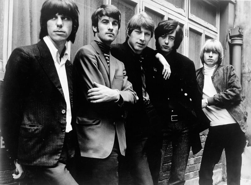 The Yardbirds in 1966 with Jeff Beck and Jimmy Page