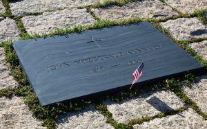 John F Kennedy Gravestone at Washington Memorial, Arlington Cemetery Image