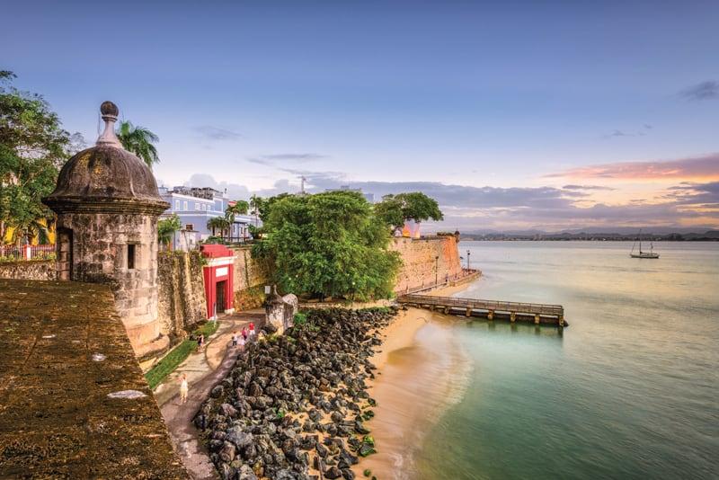Paseo de la Princesa in San Juan, Puerto Rico