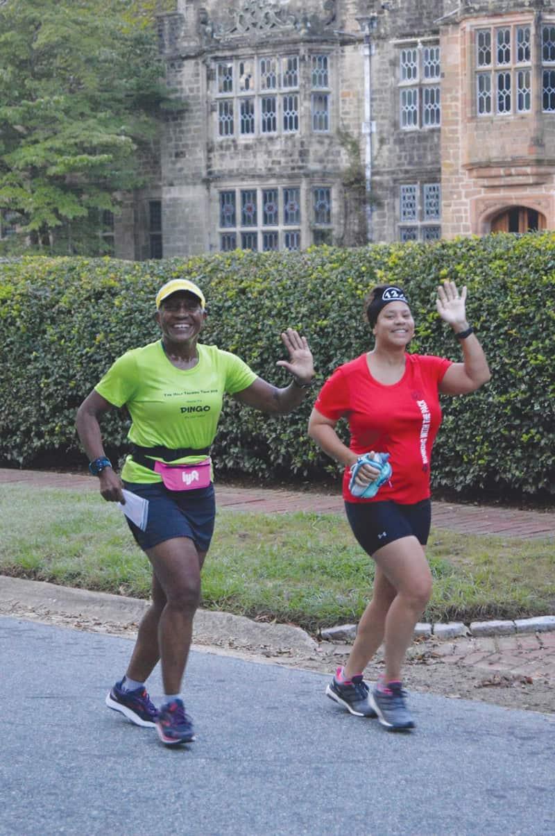 Lenora Mariner, left | Photograph courtesy of Sports Backers