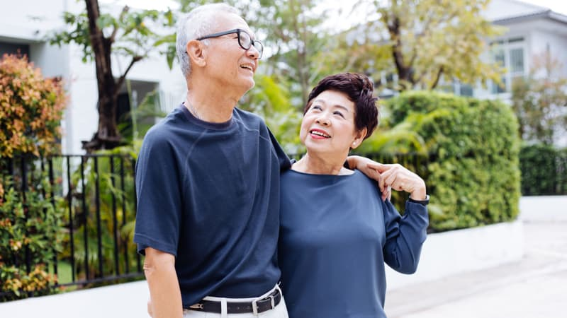 Spending more time with a spouse or partner can be one of the high points of retirement. Image