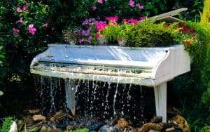 Pianos in Bloom Lewis Ginter Botanical Garden Image