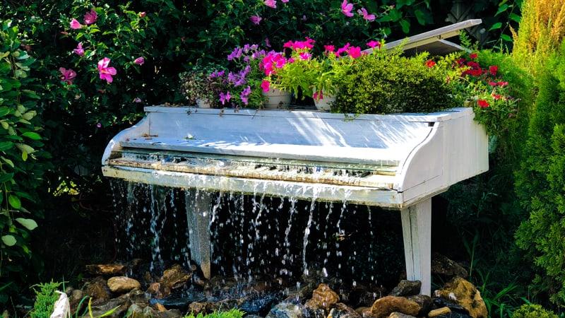 Pianos in Bloom Lewis Ginter Botanical Garden Image
