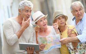 Senior Travel Tips Image