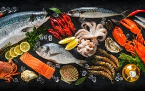 Sustainable seafood Image