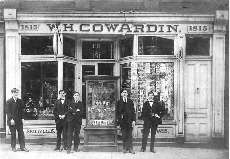 Photograph courtesy of Cowardin's Jewelers