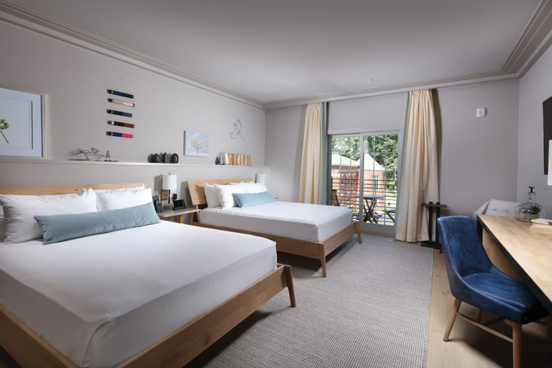 Hotel Weyanoke guestroom | Photograph courtesy of Hotel Weyanoke