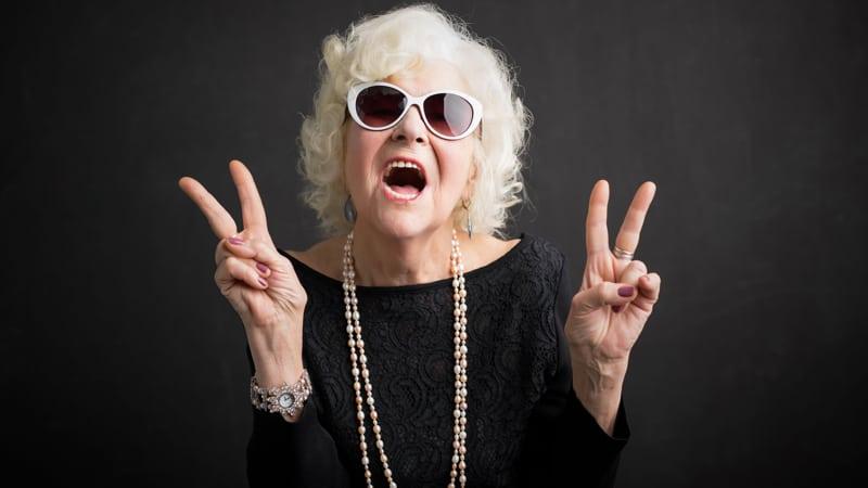 Toxic grandmother. Image