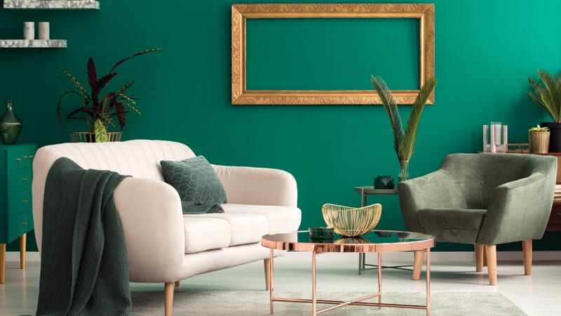 Green Home Decor Image