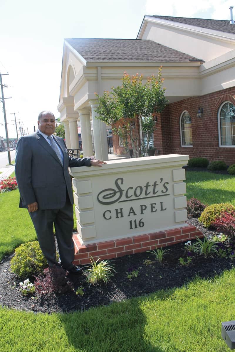 Richard A. Lambert, Sr. of Scott's Funeral Home