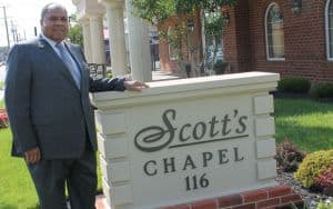 Richard A. Lambert, Sr. of Scott's Funeral Home Image